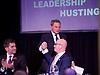 UKIP <br /> Leadership hustings <br /> at the Emanuel Centre, London, Great Britain <br /> 1st November 2016 <br /> <br /> the first leadership hustings before the election on 28th November 2016 <br /> <br /> John Rees-Evans<br /> Peter Whittle <br /> Paul Nuttall <br /> <br /> <br /> <br /> <br /> <br /> <br /> <br /> Photograph by Elliott Franks <br /> Image licensed to Elliott Franks Photography Services