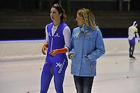 SCHAATSEN: HEERENVEEN: 16-01-2016 IJsstadion Thialf, Trainingswedstrijd Topsport, Margot Boer, Mariane Timmer, ©foto Martin de Jong