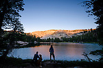 Bull Run Lake, Carson-Iceberg Wilderness, Stanislaus National Forest, California