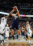 01 APRIL 2012:  Stefanie Dolson (31) of the University of Connecticut shoots against Notre Dame during the Division I Women's Final Four Semifinals at the Pepsi Center in Denver, CO.  Notre Dame defeated UCONN 83-75 to advance to the national championship game.  Jamie Schwaberow/NCAA Photos