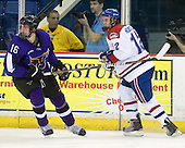 Tyler Elbrecht (Mankato - 16), Josh Holmstrom (Lowell - 12) - The visiting Minnesota State University-Mankato Mavericks defeated the University of Massachusetts-Lowell River Hawks 3-2 on Saturday, November 27, 2010, at Tsongas Arena in Lowell, Massachusetts.