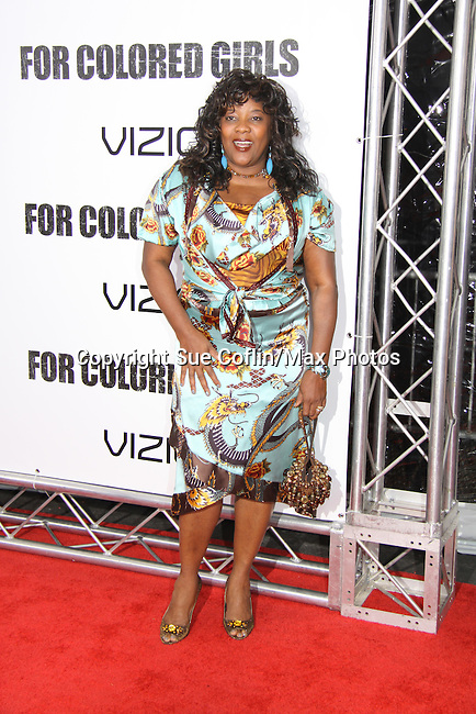"""Loretta Devine attending The New York Special Screening of Tyler Perry's next film """"For Colored Girls"""" on October 25, 2010 at the Ziegfield Theater, New York City, New York. (Photo by Sue Coflin/Max Photos)"""