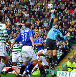 For a small keeper Stefan Klos made some heroic saves this time against Celtic in 2001