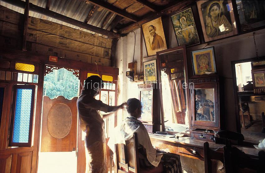 Barber Shop Hamilton Nj : Sri Lanka. Barber salon interior. threeblindmen photography