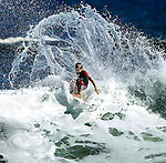 Manasquan Inlet — Hurricane Igor surf