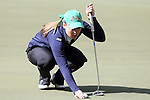 16 April 2016: Notre Dame's Emma Albrecht. The Second Round of the Atlantic Coast Conference's Womens Golf Tournament was held at Sedgefield Country Club in Greensboro, North Carolina.