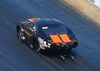 Jun 18, 2016; Bristol, TN, USA; NHRA pro mod driver Dan Stevenson during qualifying for the Thunder Valley Nationals at Bristol Dragway. Mandatory Credit: Mark J. Rebilas-USA TODAY Sports