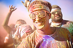 Runners get doused in colored powder during the Color Run on September 9, 2012 Washington, D.C.