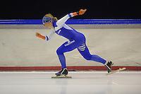SCHAATSEN: HEERENVEEN: 03-10-2014, IJsstadion Thialf, Team Continu, Thijsje Oenema, ©foto Martin de Jong