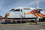 The Rail Runner is New Mexico's first commuter rail service. Inaugurated in 2006, it provides service seven days a week to 14 stations along a 96.5-mile corridor that runs through Valencia, Bernalillo, Sandoval and Santa Fe counties, linking numerous communities and Native American pueblos.
