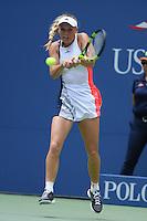 FLUSHING NY- AUGUST 31: Caroline Wozniacki Vs Svetlana Kuznetsova on Arthur Ashe Stadium at the USTA Billie Jean King National Tennis Center during the 2016 US Open on August 31, 2016 in Flushing, Queens. Credit: mpi04/MediaPunch