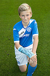 St Johnstone Academy Under 13&rsquo;s&hellip;2016-17<br />Fraser Armstrong<br />Picture by Graeme Hart.<br />Copyright Perthshire Picture Agency<br />Tel: 01738 623350  Mobile: 07990 594431
