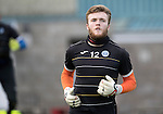 St Johnstone Training&hellip;..21.10.16<br />Keeper Zander Clark pictured during training ahead of Sunday&rsquo;s game against local rivals Dundee<br />Picture by Graeme Hart.<br />Copyright Perthshire Picture Agency<br />Tel: 01738 623350  Mobile: 07990 594431