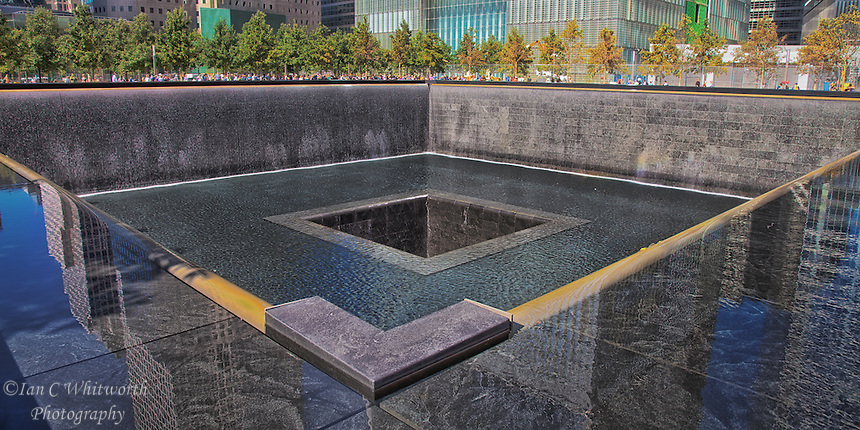 1 world trade center reflecting pool ian c whitworth - Ground zero pools ...
