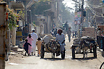 A street in Lahore, Pakistan.