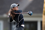 28 October 2016: Purdue University's Covadonga SanJuan (ESP). The First Round of the 2016 Landfall Tradition NCAA Women's Golf Championship hosted by the University of North Carolina Wilmington Seahawks was held at the Pete Dye Course at the Country Club of Landfall in Wilmington, North Carolina.