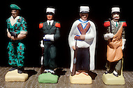 July, 1980, Aubagne, France, the French Foreign Legion Museum. Souvenirs made by retired foreign legionnaires.