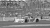 The #99 Eagle HF89 Toyota of Willy T. Ribbs and Rocky Moran races through a turn during the IMSA GTP/Lights race at the Florida State Fairgrounds on the way to a 9th place finish in Tampa, FL, October 1, 1989. (Photo by Brian Cleary/www.bcpix.com)