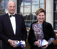 """King Harald and Queen Sonja of Norway State visit to Canada..Attend the opening of the """" Vikings """" exhibition at the Canadian Museum of Civilisation in Ottawa ."""