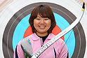 Miki Kanie (JPN), .April 22, 2012 - Archery : .Archery Japan National Team Selection match for The World Cup Ogden 2012 .at JISS Archery Field, Tokyo, Japan. .(Photo by Daiju Kitamura/AFLO SPORT) [1045]