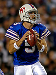 8 October 2007: Buffalo Bills quarterback Trent Edwards in action against the Dallas Cowboys at Ralph Wilson Stadium in Buffalo, New York. The Cowboys defeated the Bills 25-24 winning their fifth consecutive game of the season...Mandatory Photo Credit: Ed Wolfstein Photo