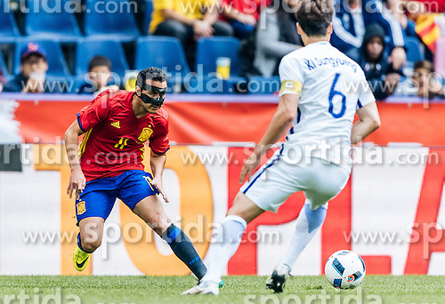 01.06.2016, Red Bull Arena, Salzburg, AUT, Testspiel, Spanien vs Suedkorea, im Bild Pedro Rodriguez (ESP) // Pedro Rodriguez of Spain during the International Friendly Match between Spain and South Korea at the Red Bull Arena in Salzburg, Austria on 2016/06/01. EXPA Pictures © 2016, PhotoCredit: EXPA/ JFK