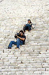 filming of Mexico: The Royal Tour at Chichen Itza