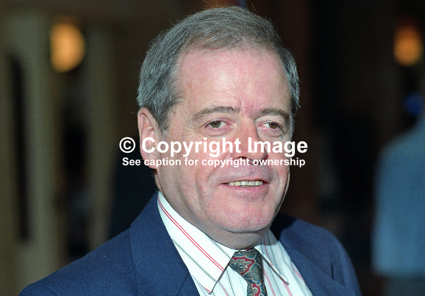 Peter Snape, MP, Labour Party, UK, taken annual conference, October 1992. 19921015PS.<br />