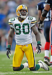 5 November 2006: Green Bay Packers wide receiver Donald Driver (80) in action against the Buffalo Bills at Ralph Wilson Stadium in Orchard Park, NY. The Bills defeated the Packers 24-10. Mandatory Photo Credit: Ed Wolfstein Photo.<br />