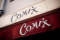 View of the exterior of the Comix comedy club host of the 6th Annual NY Arab-American Comedy Festival in New York, USA, 13 May 2009.