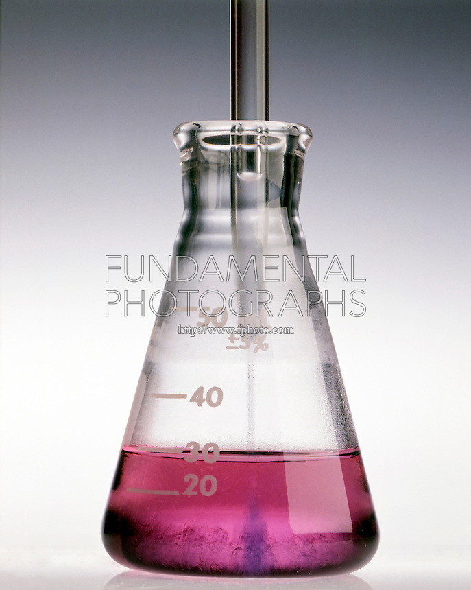 HYDROCHLORIC ACID ADDED TO COBALT II NITRATE<br /> (2 of 5)<br /> Cobalt Chloride Ions Begin To Form<br /> HCl(aq) is added to pink Co(NO3)2(aq) to form blue CoCl4 2- ion.