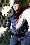 14 October 2014: Hope Solo. The United States Women's National Team held a training session on the stadium field at Swope Park Soccer Village in Kansas City, Missouri in preparation for the CONCACAF Women's World Cup Qualifying Tournament for the 2015 Women's World Cup in Canada.