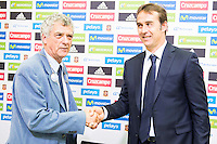 Julen Lopetegui Spanish Team.