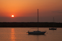 Sunrise over Anastasia Island in St. Augustine, Florida