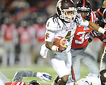 Ole Miss vs. Mississippi State's Jameon Lewis (4) at Vaught-Hemingway Stadium in Oxford, Miss. on Saturday, November 24, 2012. Ole Miss won 41-24.