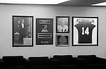 Detmer wall<br /> <br /> 14 Ty Detmer. <br /> <br /> Photo by Mark Philbrick/BYU<br /> <br /> &copy; BYU PHOTO 2009<br /> All Rights Reserved<br /> photo@byu.edu  (801)422-7322
