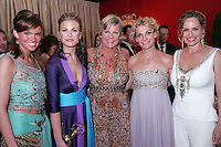 28 April 2006: Actress Gina Tognoni, Kim Zimmer, Crystal Chappell of Guiding Light behind the scenes in the STAR greenroom at the 33rd Annual Daytime Emmy Awards at the Kodak Theatre at Hollywood and Highland, CA. Contact photographer for usage availability.