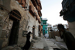 A Picture shows buildings and life in the historic center in Jeddah, Saudi Arabia , taken on November 30, 2010. (Salah Malkawi for The New York Times)