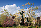 Arp. 26, 2011; Main Quad ..Photo by Matt Cashore/University of Notre Dame