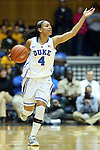 22 February 2013: Duke's Chloe Wells. The Duke University Blue Devils played the Florida State University Seminoles at Cameron Indoor Stadium in Durham, North Carolina in a 2012-2013 NCAA Division I and Atlantic Coast Conference women's college basketball game. Duke won the game 61-50.