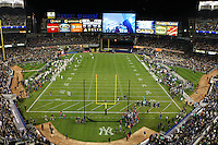 Yankee Stadium prio to kick off for the Notre Dame vs. Army football game on Saturday, November 20, 2010. Photo by Errol Anderson
