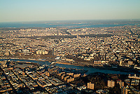 aerial photograph Bronx, New York City