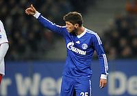 FUSSBALL   1. BUNDESLIGA    SAISON 2012/2013    14. Spieltag   Hamburger SV - FC Schalke 04                               27.11.2012 Klaas Jan Huntelaar (FC Schalke 04)