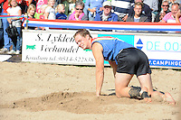 FIERLJEPPEN: IT HEIDENSKIP: 23-08-2014, Nederlands Kampioenschap Fierljeppen, ©foto Martin de Jong