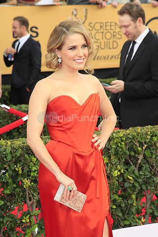 Sophia Bush at the 2015 Screen Actor Guild Awards at the Shrine Auditorium on January 25, 2015 in Los Angeles, CA David Edwards/DailyCeleb/MediaPunch