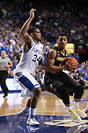 UK guard Julius Mays defends the ball against Missouri guard Phil Pressey at UK vs. Missouri at Rupp Arena in Lexington, Ky. on Saturday, February 23, 2013. Photo by Emily Wuetcher | Staff....