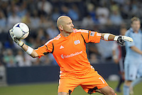 Matt Reis goalkeeper New England Revolution.Sporting Kansas City and New England Revolution played to a 0-0 tie at LIVESTRONG Sporting Park, Kansas City, KS.