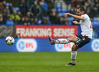 Bolton Wanderers' Filipe Morais shoots at goal from a freekick<br /> <br /> Photographer Alex Dodd/CameraSport<br /> <br /> The EFL Sky Bet League One - Bolton Wanderers v Northampton Town - Saturday 18th March 2017 - Macron Stadium - Bolton<br /> <br /> World Copyright &copy; 2017 CameraSport. All rights reserved. 43 Linden Ave. Countesthorpe. Leicester. England. LE8 5PG - Tel: +44 (0) 116 277 4147 - admin@camerasport.com - www.camerasport.com