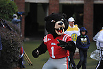 Rebel the Bear mascot at Ole Miss vs. Texas A&M at Vaught-Hemingway Stadium in Oxford, Miss. on Saturday, October 6, 2012. Texas A&M rallied from a 27-17 4th quarter deficit to win 30-27.