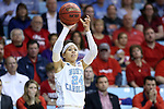 21 March 2015: North Carolina's Jessica Washington. The University of North Carolina Tar Heels hosted the Liberty University Flames at Carmichael Arena in Chapel Hill, North Carolina in a 2014-15 NCAA Division I Women's Basketball Tournament first round game.